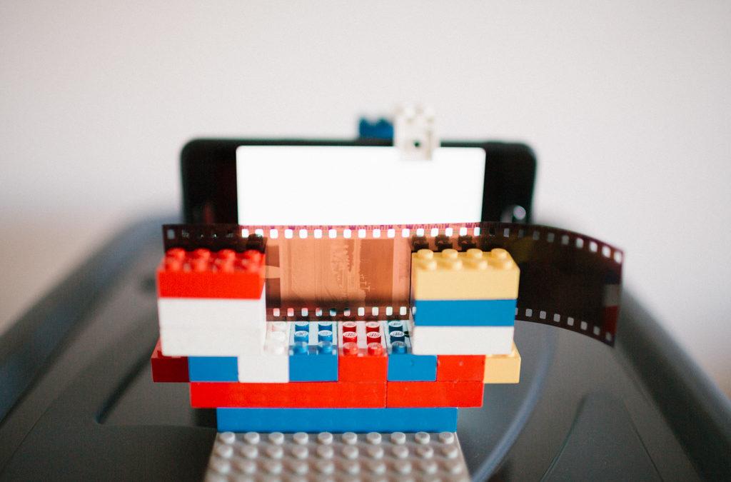 Un scanner de négatif en Lego